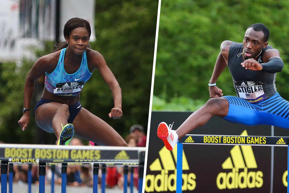 Women's 100m adidas Boost Boston Games 2016